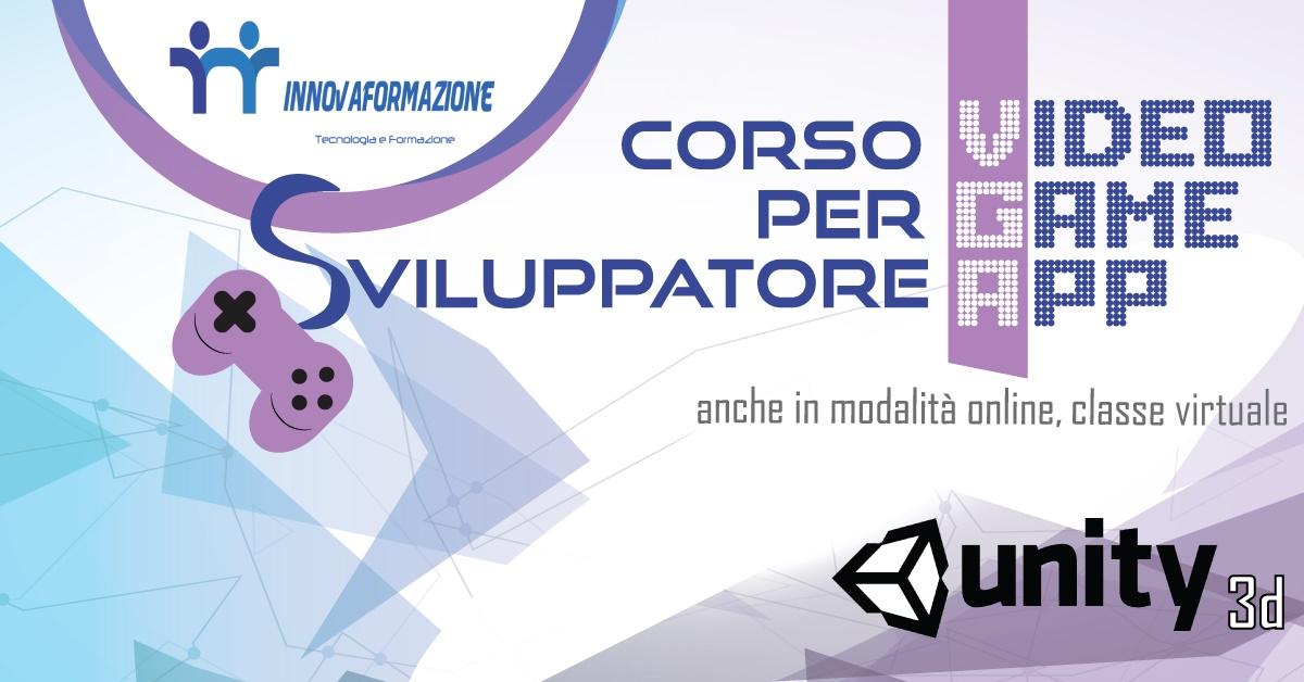 Corso Unity 3D Sviluppatore Videogames 1FB